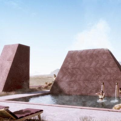 Ikonoform - Red Mountain Lagoon Rooftop